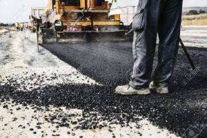 Road construction work at Kailash Mansarovar Yatra